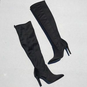 Nine West Feyna Over The Knee Boots size 5 1/2